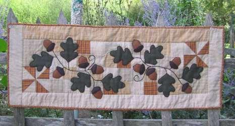Acorn and Leaf-