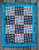 E-Pattern - Rainbow Wild Geese