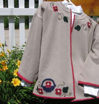 Buttons and Baskets Jacket