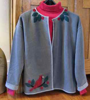 Cardinal & Berries Jacket