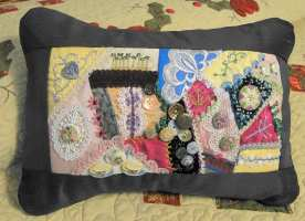 Crazy Quilt Button Collection
