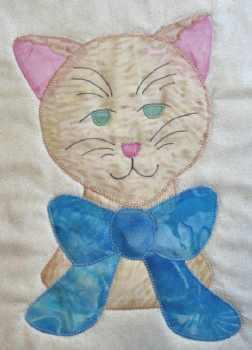 Miss Kitty Appliqu� Block