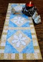 Snowflake Tablerunner & Candle Mat